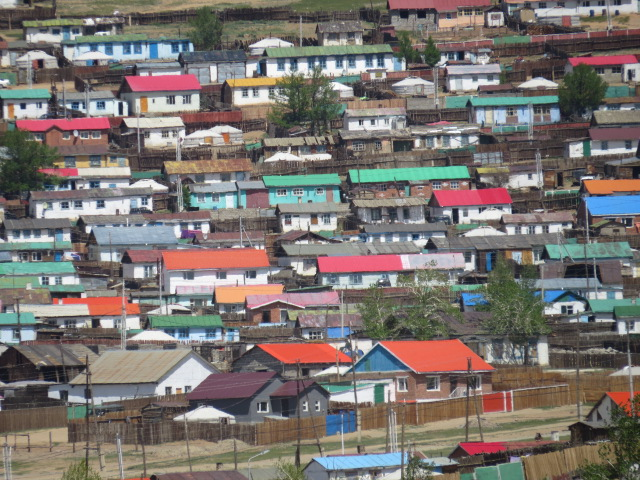 Colourful Roofs Mongolia
