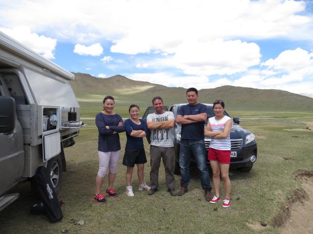 Mongolian Wrestlers