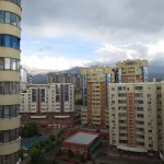 View from Keremet Apartments Almaty