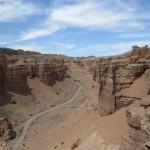 Road at bottom of Canyon