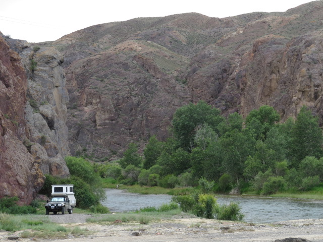 Charyn River Camp