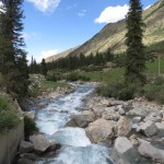 Fantastic Kyrgyz Scenery