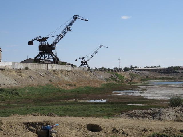 Aralsk harbour