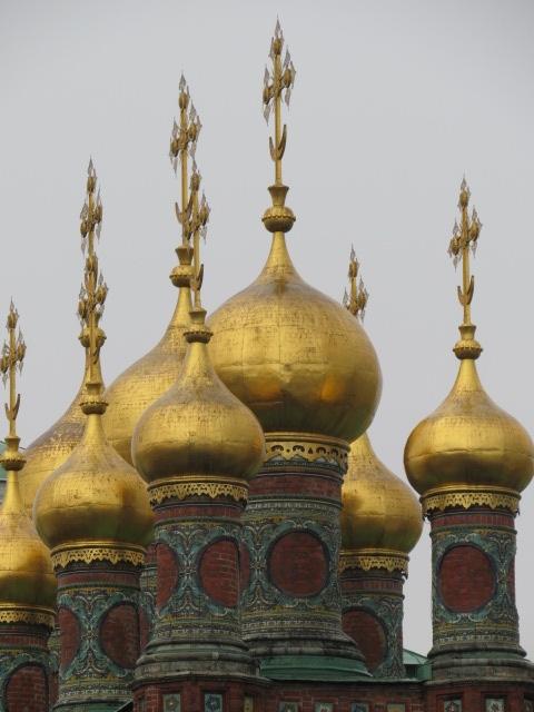 Kremlin Cathedral Spires