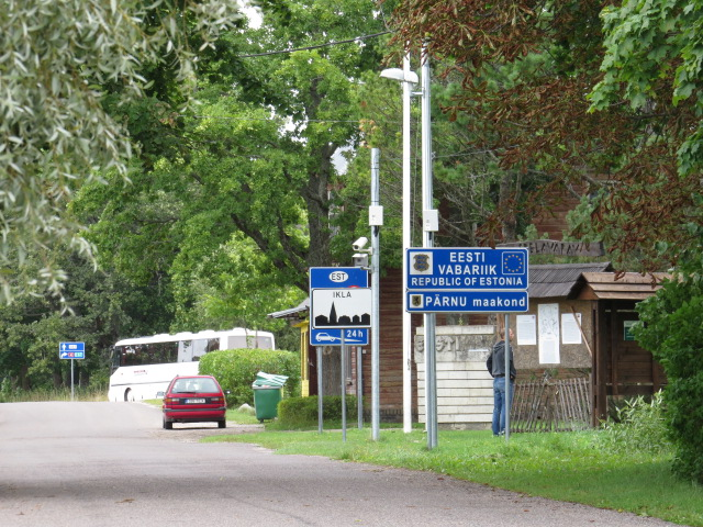Estonia Latvia Border