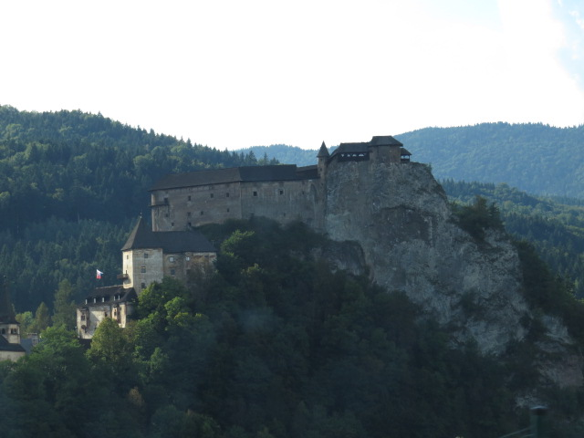 Orava Castle enroute to Terry's