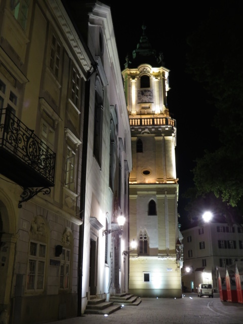 Again - Bratislava by Night