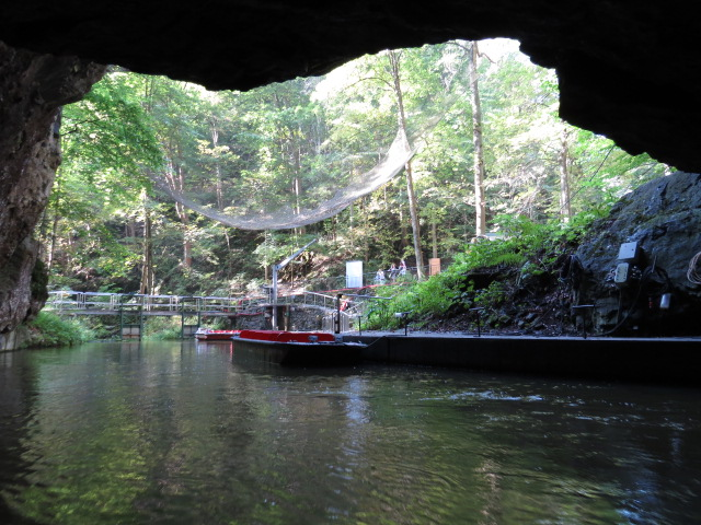 Punka Caves Boat ride