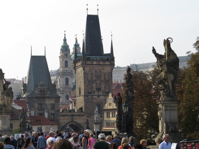 Charles Bridge Traffic