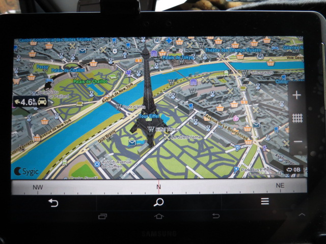 Not often you see this on your SATNAV