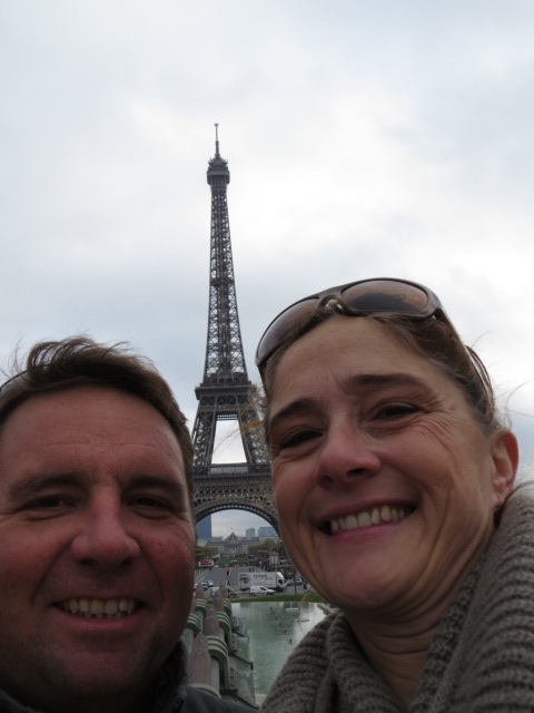 Selfie at the Eiffel Tower