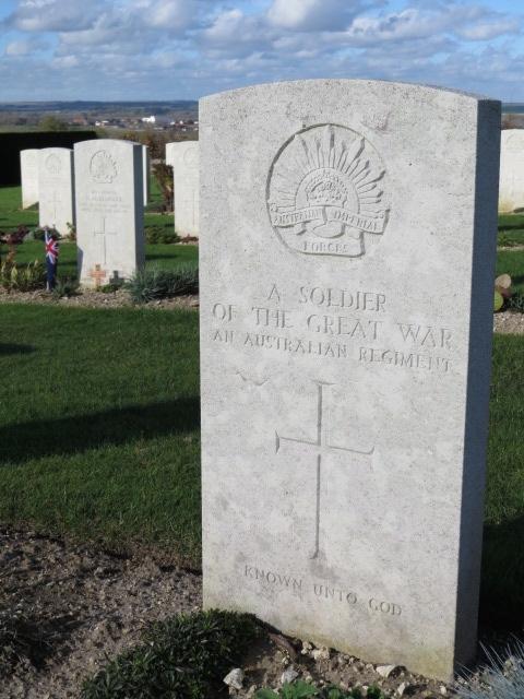 Australian memorial at Villers Brettoneaux