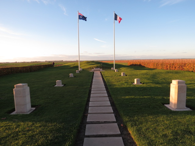 Windmill Memorial Site at Pozieres