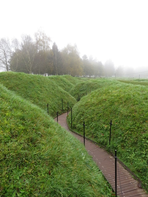 Trenches at Beaumont-Hamel
