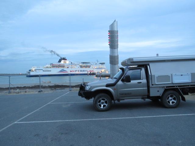 Aire at Calais Harbour