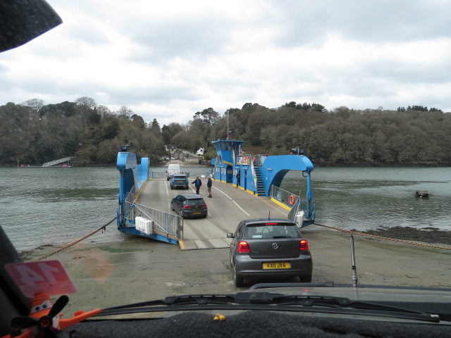 Using the King Harry Ferry for 300mtrs of travel saves 20 Kms!