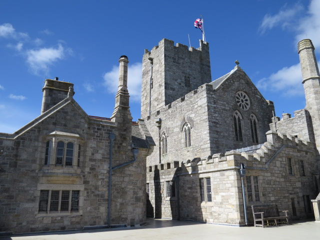 Castle upon St Michael's Mount