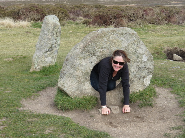 Crawling through the stone ring is meant to have healing powers!