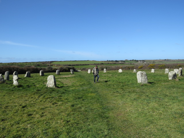 Merry Maiden Standing Stone Circle
