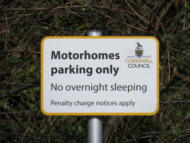 You can park overnight but just don't go to sleep!