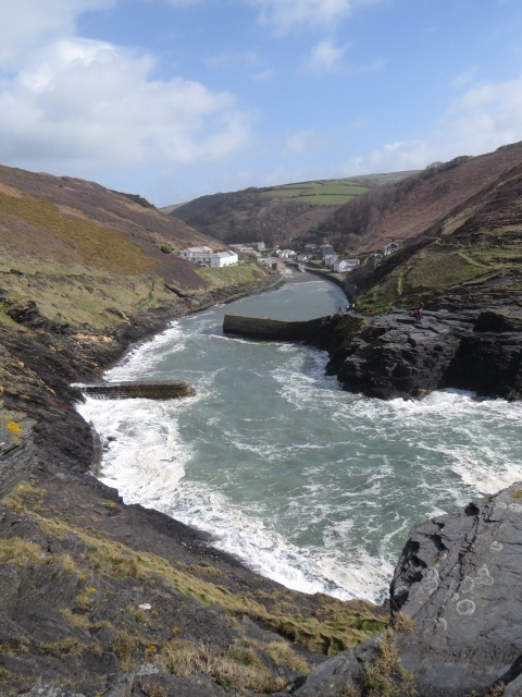 View of Boscastle