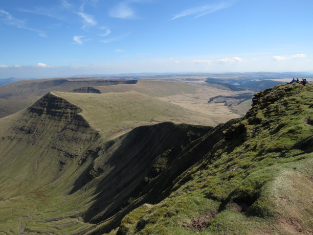 View from Pen y Fan 886mtrs