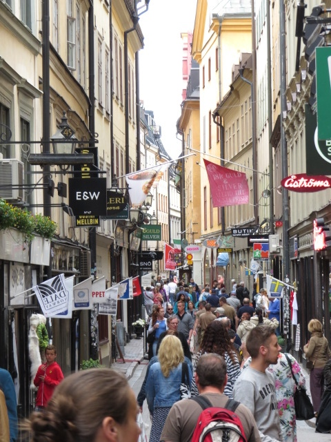 Old Town Stockholm - Tourist Central
