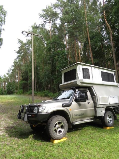Camping in the German Forest