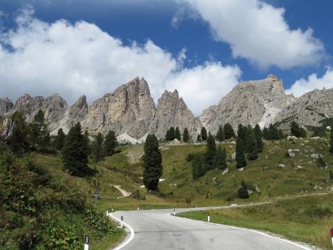 Dolomites Driving