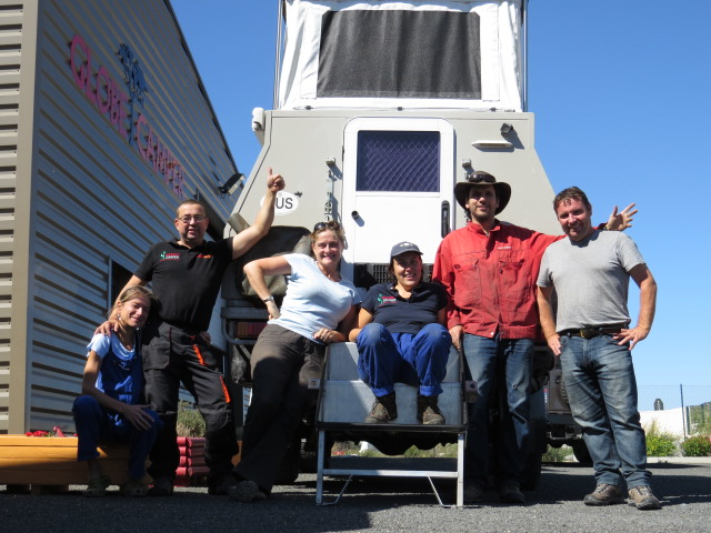 Our friends at Globe Campers and Mecca Engineering