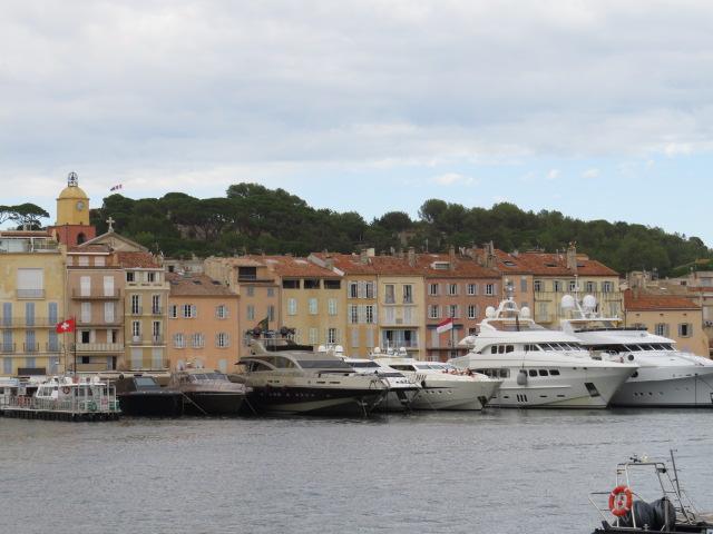 St Tropez Boats v Buildings