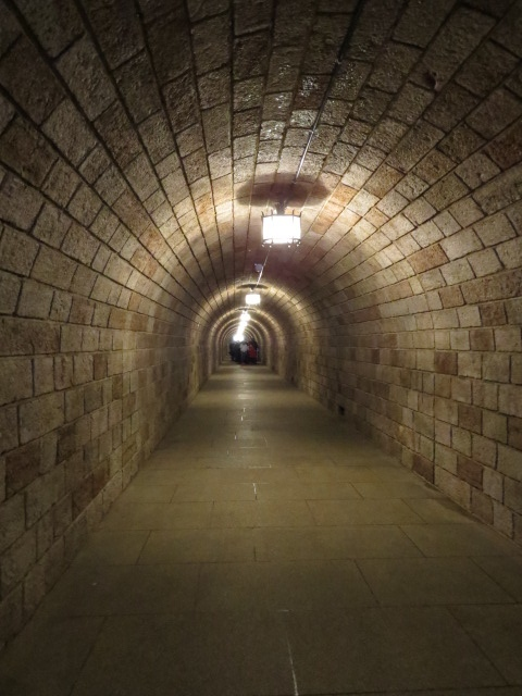 The 80mtr tunnel to the Brass Elevator