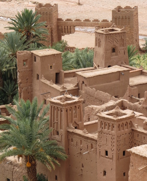 The Ksar at Ait Ben Haddou - famous film location