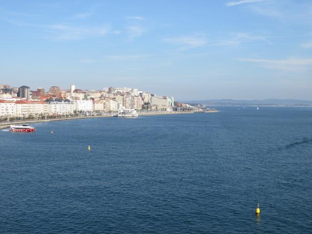 Departing Santander
