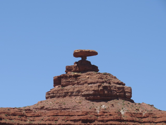 Aptly named Mexican Hat