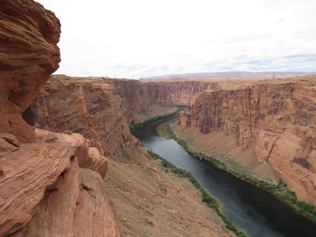 Colorado River as it winds its way toward the Grand Canyon