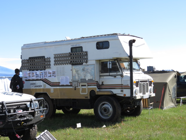 Jan and Leone have been travelling the world in their Forward Control Land Rover Camper on and off for 18yrs!!!