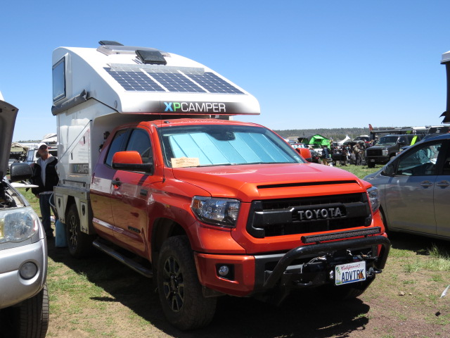 XP Camper on a Toyota Tundra