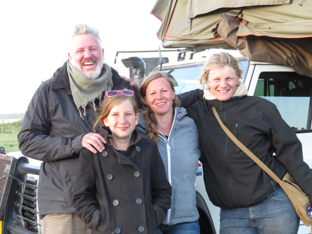 Graeme, Luisa, son Keelan and daughter Jessica from a2aexpedition.com