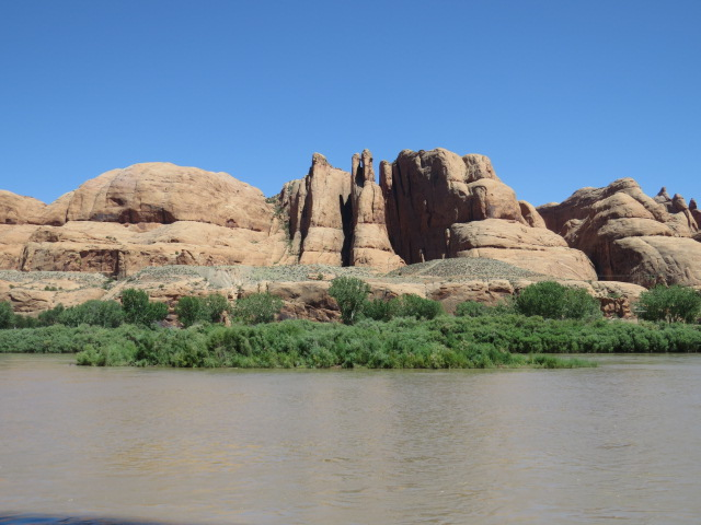 Colorado River Scenery - Moab