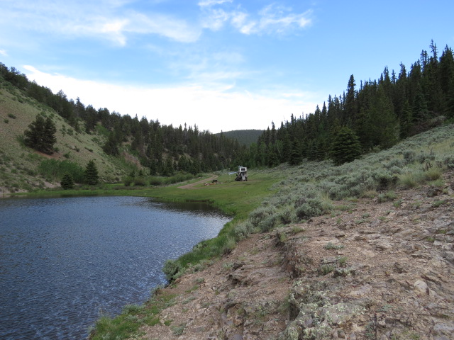 McDonaugh Reservoir Camp