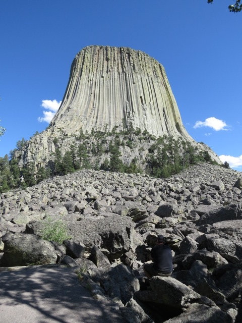 "Devil's Tower of ""Close Encounters"" Fame"