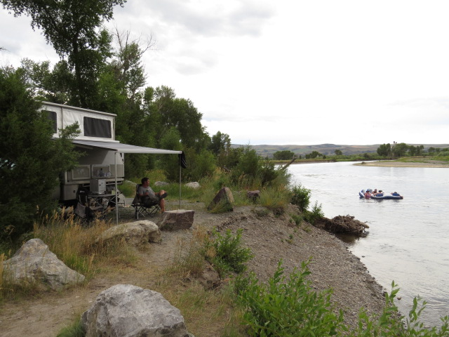Our Missouri River Camp
