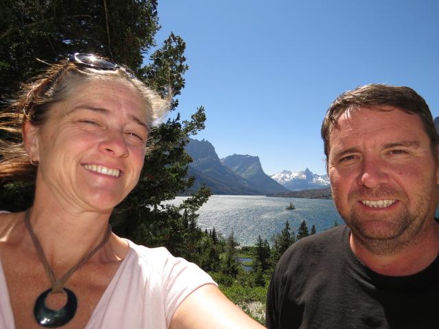 Selfie at Glacier NP