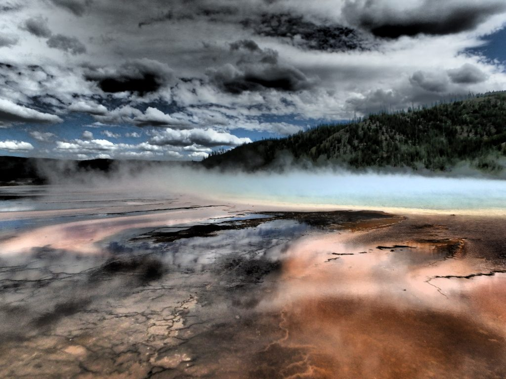 Grand Prismatic Spring - Yellowstone NP