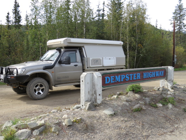 Starting the Dempster Hwy