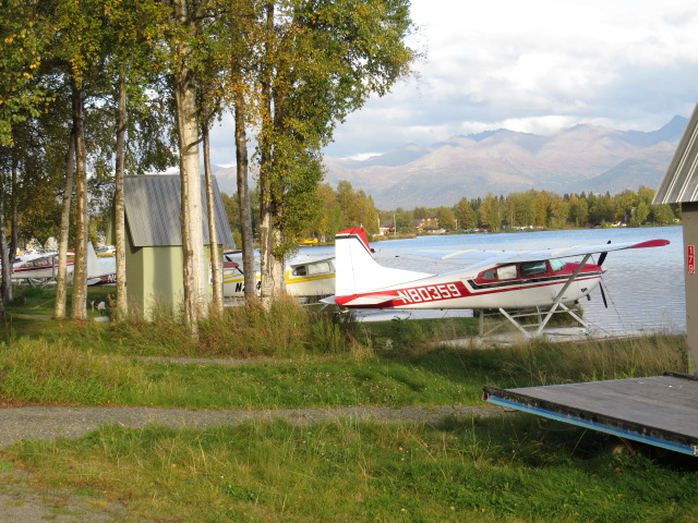 Lake Hood Float Plane Base