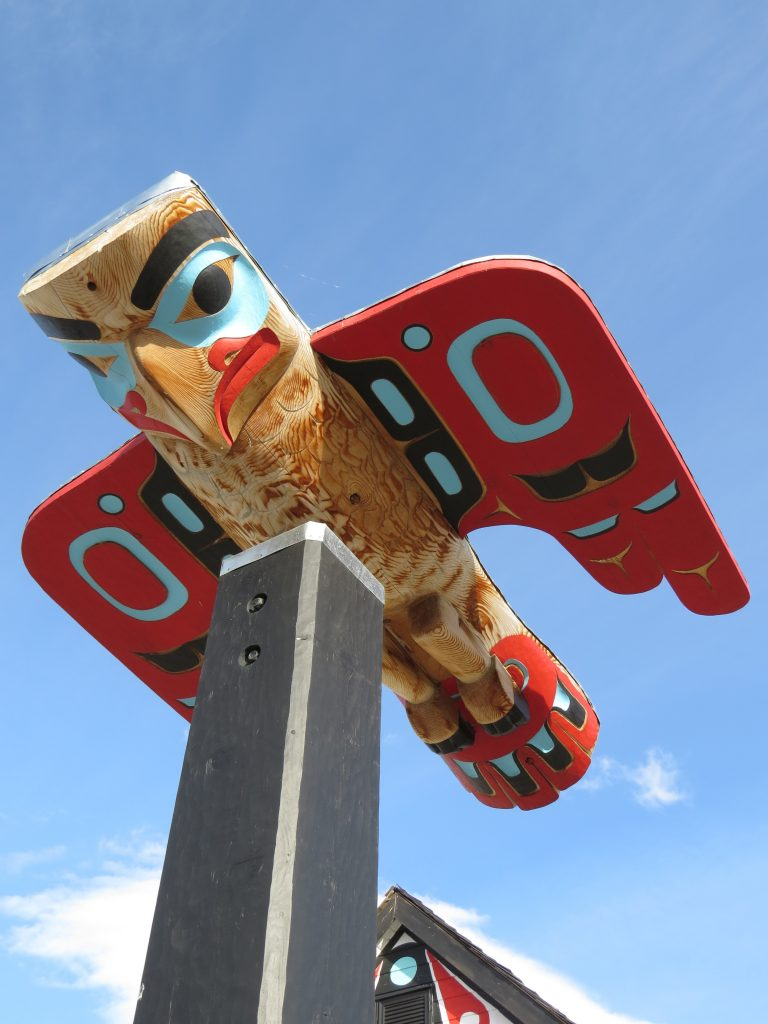 Great totem pole art