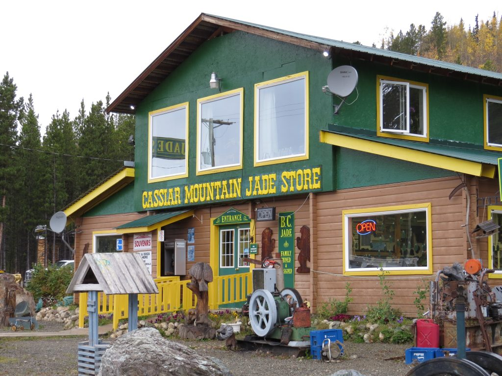 Cassiar Hwy Jade store coming to a TV near you soon!