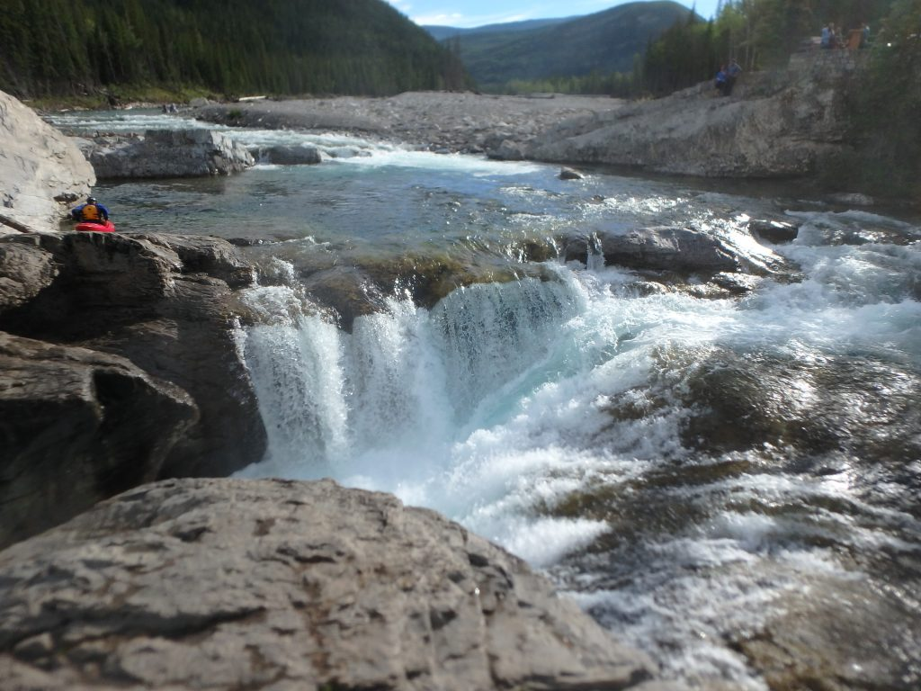 Elbow Falls near Calgary